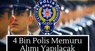 4000 polis alınacak