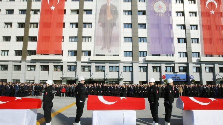 İstanbul'daki Patlamada Şehit Olan Polislerimiz