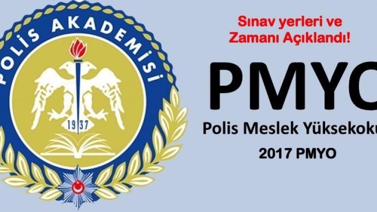 2017 PMYO Giriş Belgeleri Açıklandı