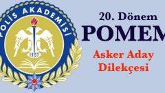 Askerlik Yapan POMEM Adayları Dilekçe Yazacak