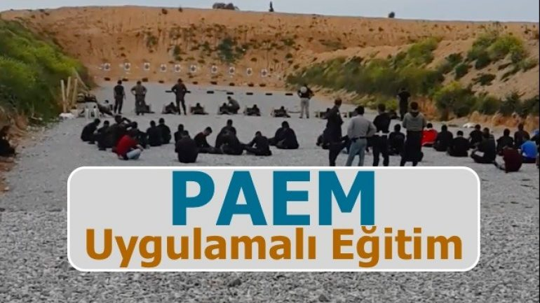 PAEM Uygulamalı Eğitim Kampı