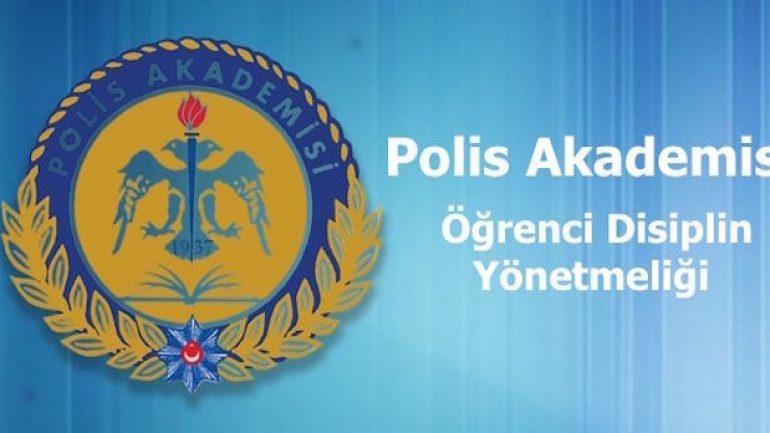 Polis Akademisi Öğrenci Disiplini
