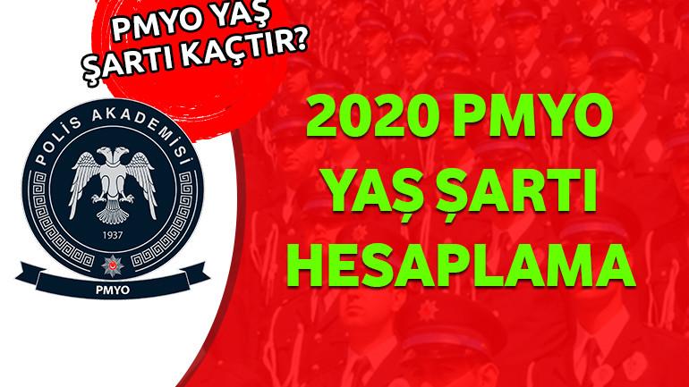 2020 PMYO Yaş Şartı