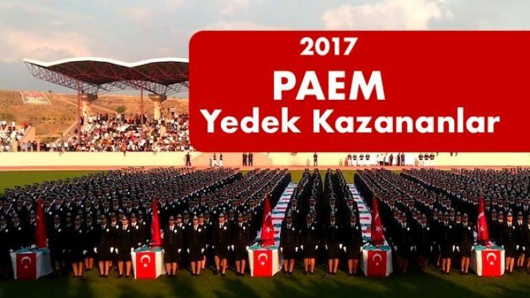 2017 PAEM 3. Dönem 5. Yedek Yerleştirmesi Yapıldı