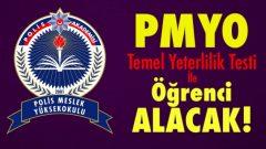 PMYO Polis Alımları TYT İle Yapılacak