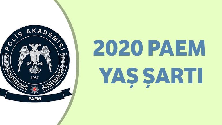 2020 PAEM Yaş Şartı