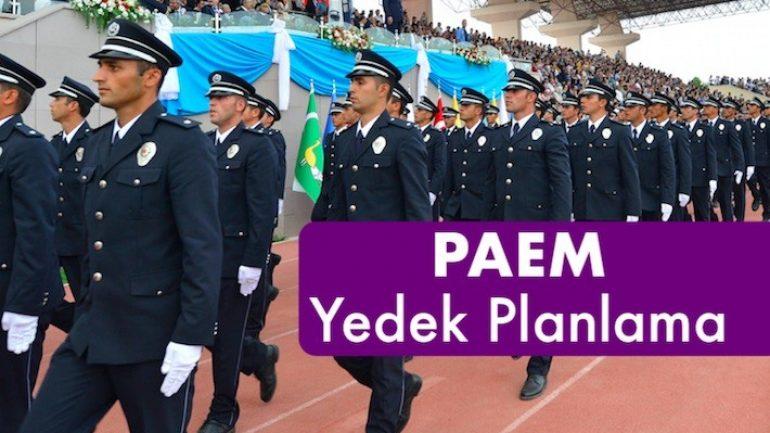 2017 PAEM 3. Dönem Komiser Yardımcısı 6. Yedek Alım Sonuçları Açıklandı