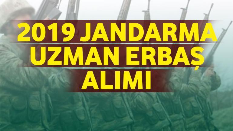 2019 – Jandarma Uzman Erbaş Alımı