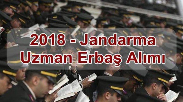 2018 – Jandarma Uzman Erbaş Alımı