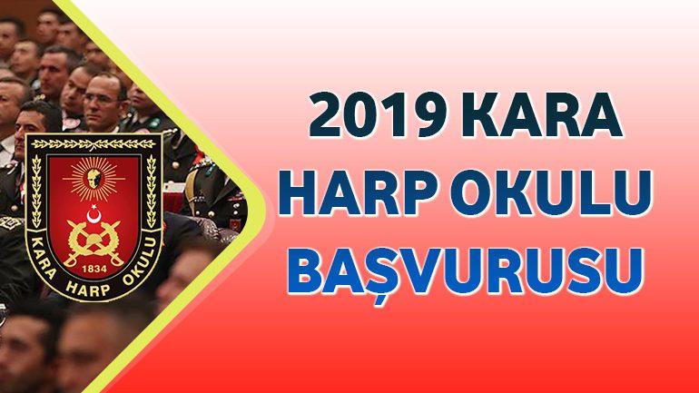 2019 – Kara Harp Okulu Başvurusu