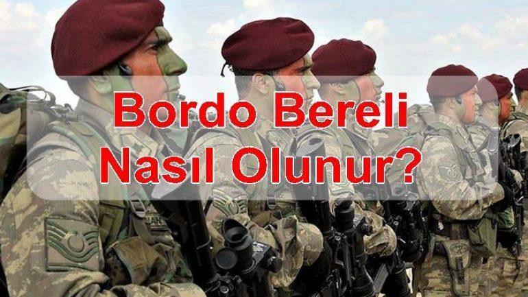 Bordo Bereli Nasıl Olunur?