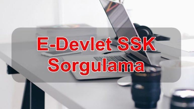 E-Devlet SSK Sorgulama