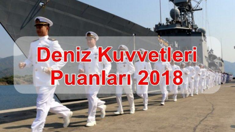 Deniz Kuvvetleri Puanları 2018