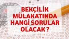 2019 – Bekçilik Sınavında Sorulacak Sorular ?
