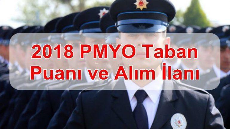 2018 PMYO Taban Puanı ve Alım İlanı