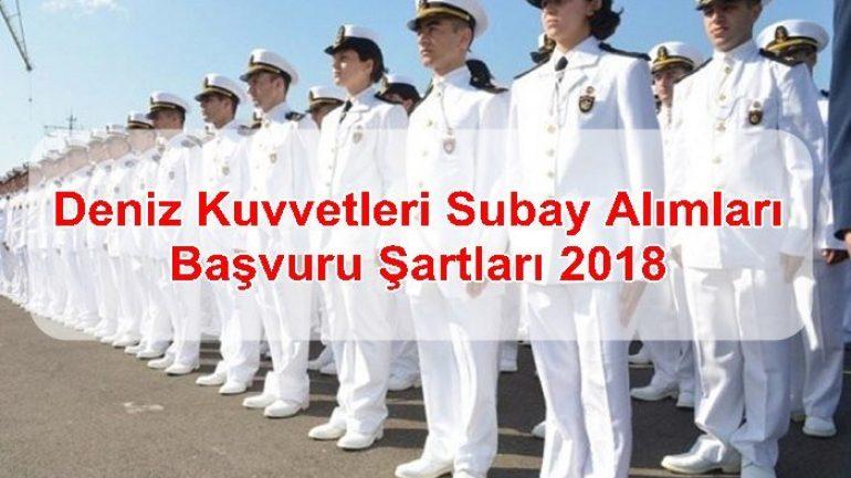 Deniz Kuvvetleri Subay Alımları ve Başvuru Şartları 2018