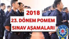 23. Dönem POMEM Sınav Aşamaları 2018