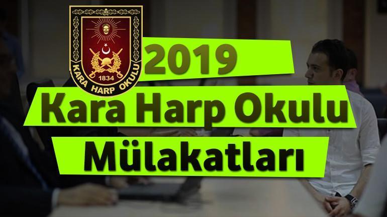 2021 – Kara Harp Okulu Mülakatları