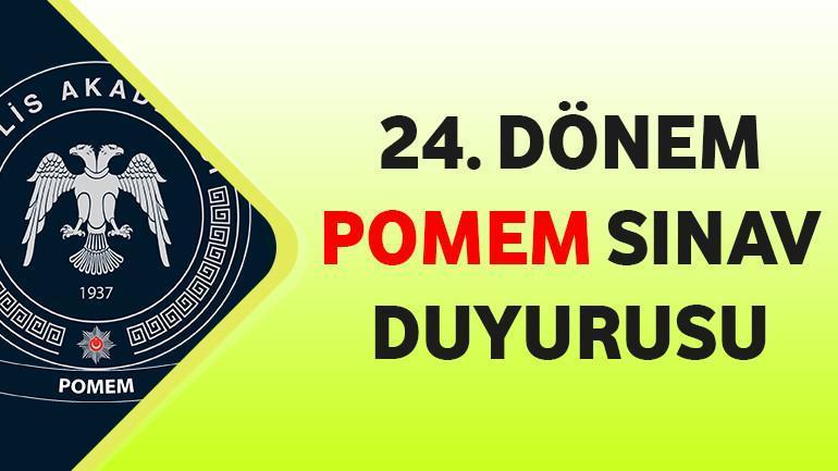 24. Dönem POMEM Sınav Duyurusu