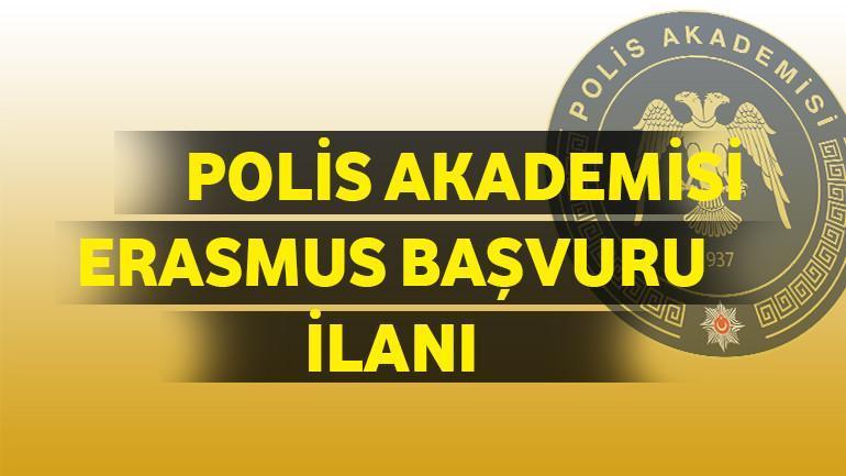 Polis Akademisi Erasmus Başvuru İlanı