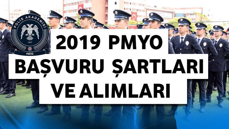 2019 – PMYO Başvuru Şartları ve Alımları