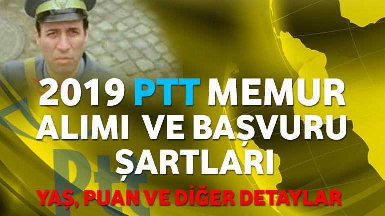 2019 – PTT Memur Alımı ve Başvuru Şartları