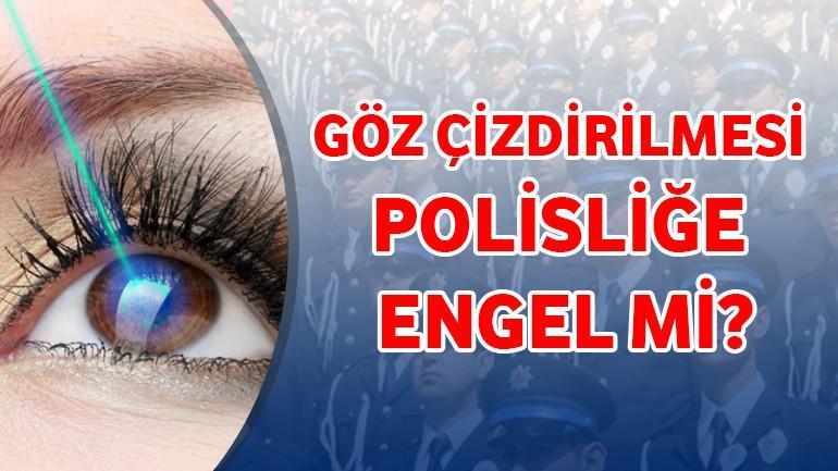 Göz Çizdirilmesi Polisliğe Engel Mi?