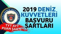 2019 – Deniz Kuvvetleri Başvuru Şartları