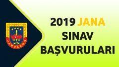 2019 – JANA Sınav Başvuruları