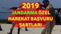 Jandarma Özel Harekat Başvuru Şartları 2019