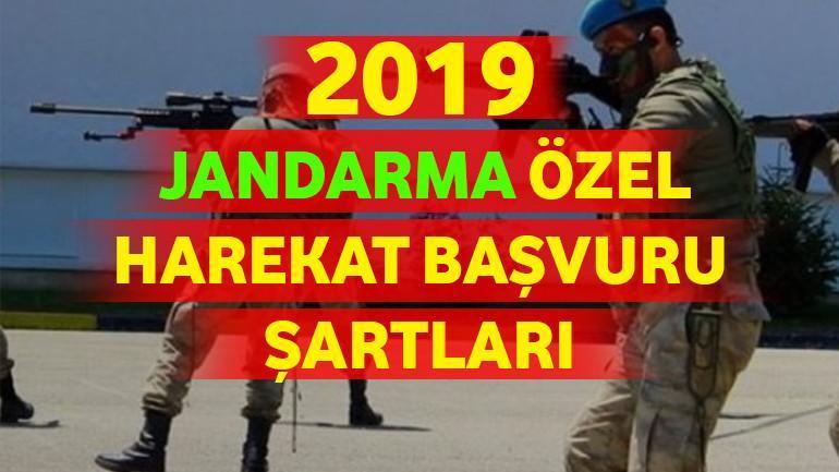 Jandarma Özel Harekat Başvuru Şartları 2021