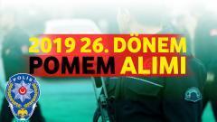 2019 26. Dönem POMEM Alımı