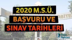 2020 Milli Savunma Üniversitesi Başvuru ve Sınav Tarihleri