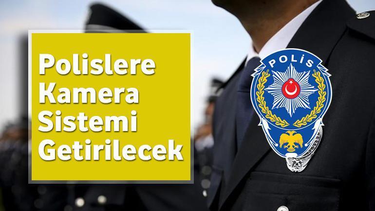 Polislere Kamera Sistemi Getirilecek