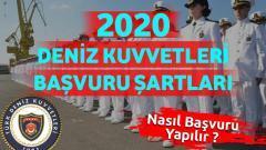 2020 Deniz Kuvvetleri Başvuru Şartları