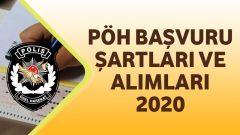 Polis Özel Harekat (PÖH) Başvuru Şartları ve Alımları 2020