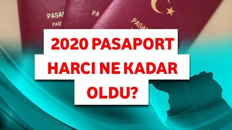 2020 Pasaport Harcı Ne Kadar Oldu?